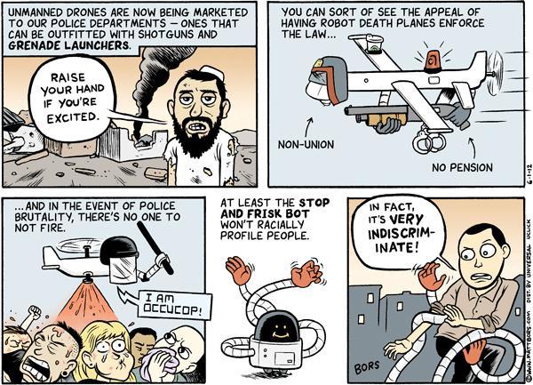 Hyperbolic Drone Fears
